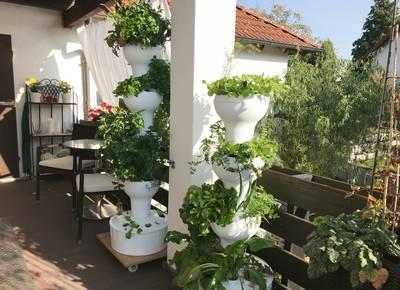 Fabulous Hydroponik: Vertikaler Garten - vertikaler Gemüseanbau auf dem Balkon UR42